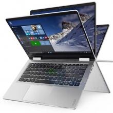 德赢彩票YOGA710 14英寸超轻薄笔记本电脑 PC平板二合一 商务办公便携手提电脑超级本 i7-7500U/8G/256G固态/银色 2G独显