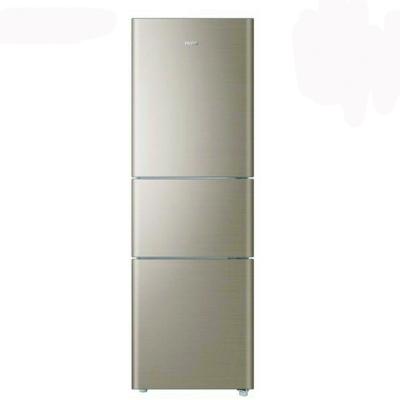 海尔 BCD-206STPP 三门节能冰箱 定频直冷 206L 森林棕色 550*564*1739mm