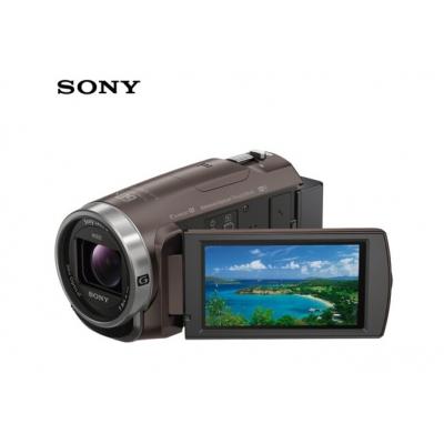 索尼摄像机SONY HDR-CX680(含电池+内存卡+包+三脚架+读卡器)